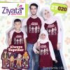 Kaos Keluarga Terbaru Merah Kombinasi Putih Ziyata ZT 20