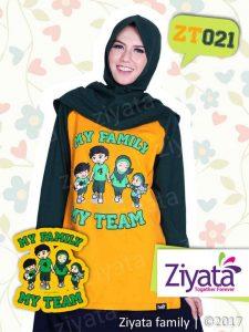 Kaos Karakter Keluarga Baju Couple Ayah Ibu Dan Anak Ziyata