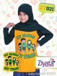 Kaos Muslim Couple Ziyata Baju Seragam Ibu Bapak Anak Cewe