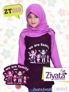 Jual Kaos Couple Keluarga Muslim Family Keren Model Terbaru