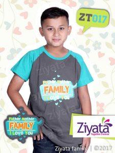Jual Baju Couple Ayah Ibu Dan Anak Laki-Laki Ziyata Family