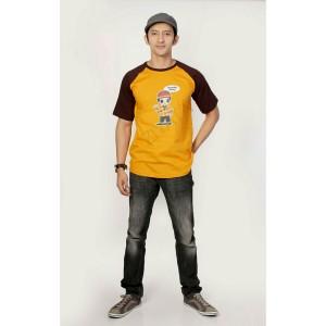 Baju Family Ziyata ZTR 01 Ayah Kuning Coklat