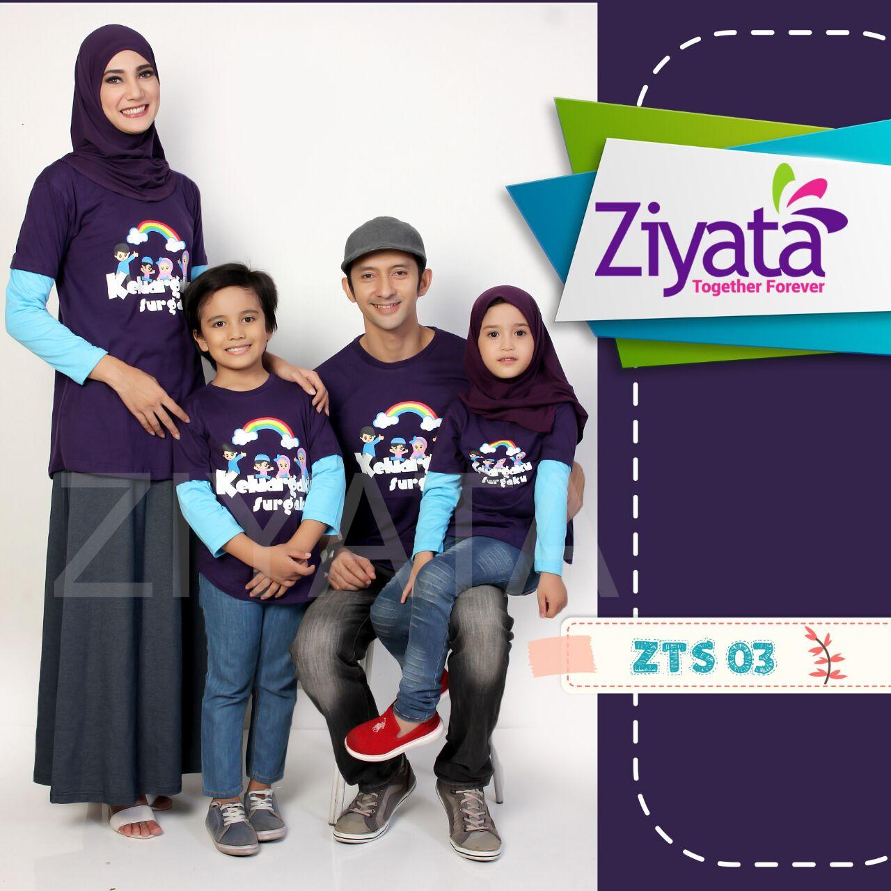 Baju Family Ziyata ZTS 03 Ungu