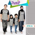 Baju Family Ziyata Abu Abu ZTM 01