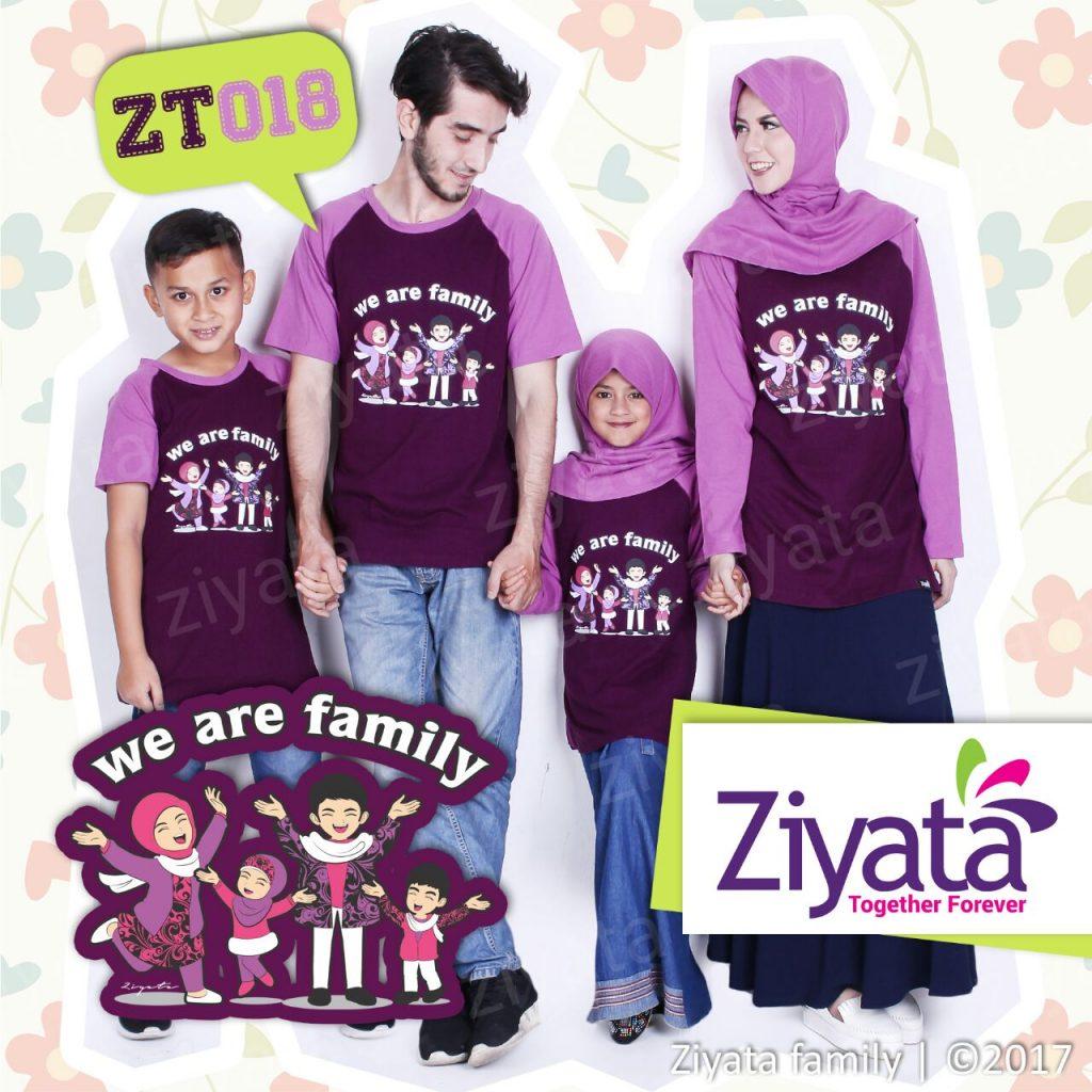 Kaos Keluarga Muslim Terbaru