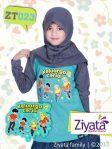 Baju Kaos Ayah Ibu Dan Anak Kaos Anak Perempuan ZiyataZT023
