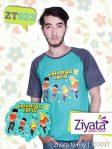 Kaos Kembar Ayah Ibu Dan Anak Kaos Ayah Ziyata Family ZT023