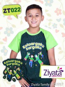 Baju Kaos Seragam Ayah Ibu Anak Grosir Ziyata Family ZT022