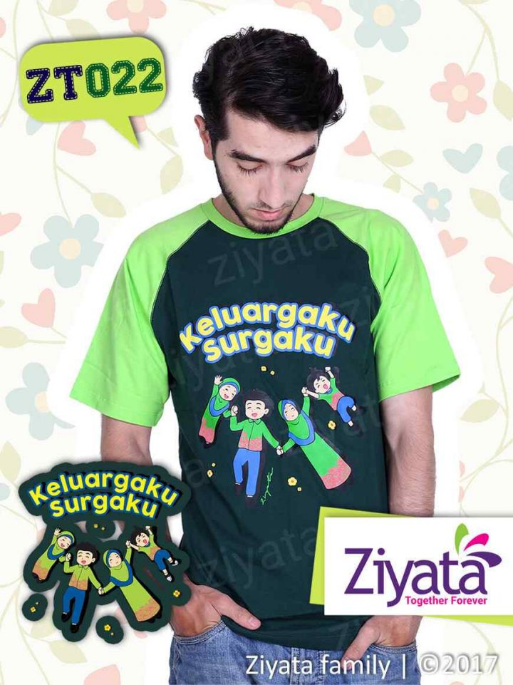 Kaos Couple Ayah Ibu Anak