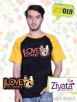 Kaos Karakter Ayah Ibu Anak Kaos Islami Couple Ziyata ZT019