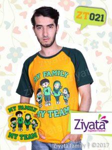 Kaos Kembaran Keluarga Baju Couple Ayah Ibu Dan Anak Ziyata