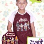 Baju Couple Ayah Ibu Putra Model Kaos Couple Family Muslim