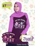 Jual Baju Ouple Keluarga 2 Anak Perempuan Ziyata Family